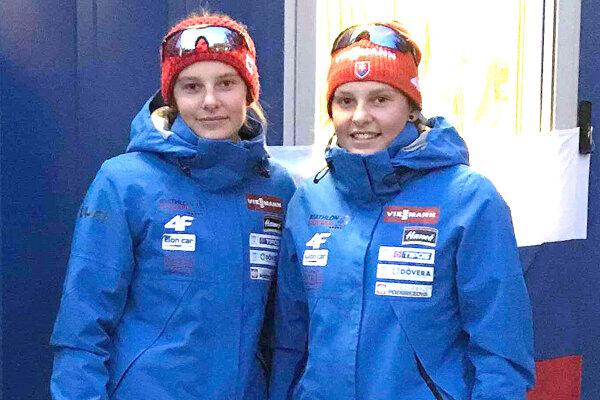 Dvojičky Mária a Zuzana Remeňové z Hruštína.