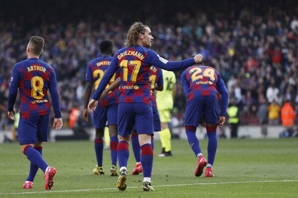 Hráči FC Barcelona.