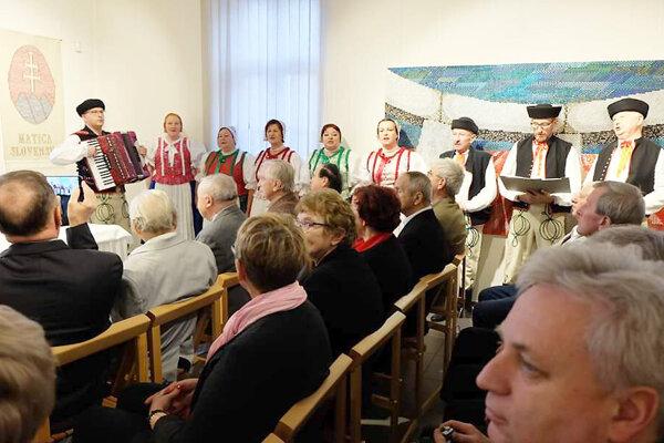 Vstúpenie Speváckej folklórnej skupiny Orava.