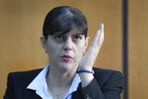 Hlavná európska prokurátorka Laura Codruţu Kövesi.