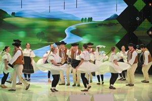 Vystúpenie Považancov v súťaži.