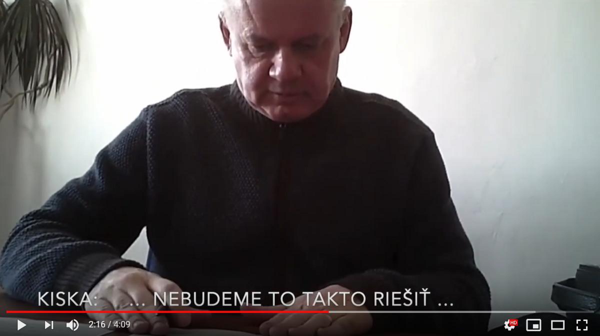 Anonym zverejnil ďalšie video proti Kiskovi, zatiaľ najkratšie - SME