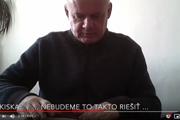 Screenshot z tretieho videa proti Andrejovi Kiskovi.