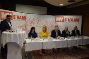 Predvolebná diskusia MY S VAMI v Žiline.