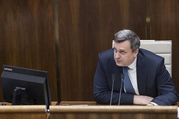 Predseda strany SNS Andrej Danko.