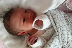 Natália Palatinusová (2700 g, 47 cm) sa narodila 29. januára Michaele a Michalovi zo Selca.