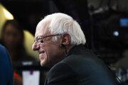 Senátor a demokratický kandidát na prezidenta USA Bernie Sanders.