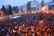 Po vražde novinára vyšlo do ulíc najviac ľudí od Novembra ´89.
