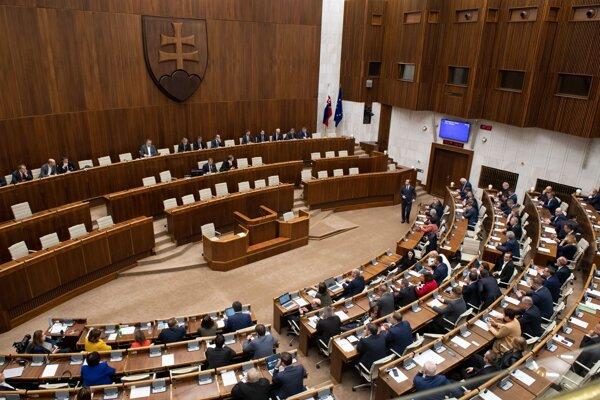 Parlament - ilustračná fotografia.