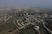 Osada Ma'ale Efraim na Západnom brehu.