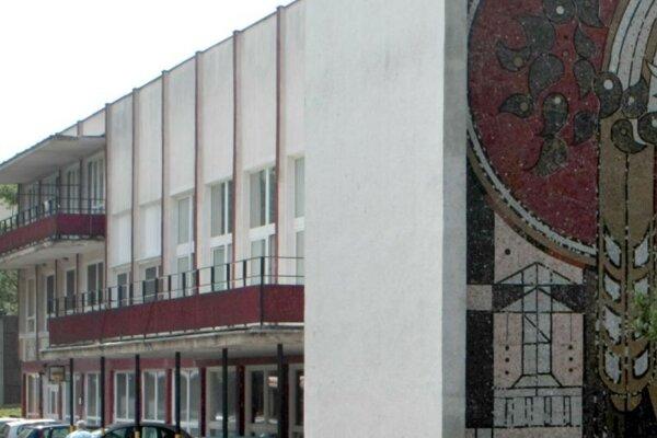 Budova Domova sociálnych služieb Gaudeamus na Mokrohájskej ulici.