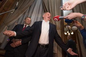 Voľby 2020: Predseda strany Za ľudí Andrej Kiska.