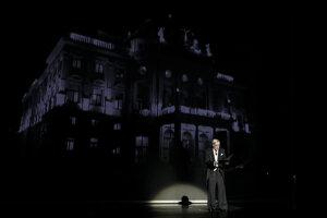 Na snímke dlhoročný člen Činohry Slovenského národného divadla (SND) herec Dušan Jamrich počas galavečera.
