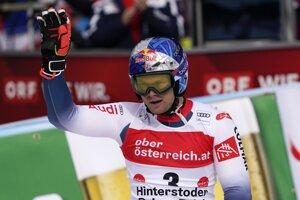 Alexis Pinturault po triumfe v Hinterstoderi.