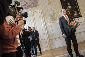 Voľby 2020: Predseda hnutia Sme rodina Boris Kollár počas stretnutia s prezidentkou Zuzanou Čaputovou k výsledkom volieb.