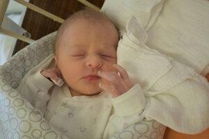 Lucia Brchelová (2680 g, 49 cm) sa narodila 24. februára Márii a Martinovi z Hornej Potône.