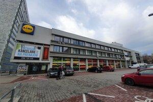 Bývalý Dom techniky, ktorý chcela spoločnosť Tatra Real prestavať.