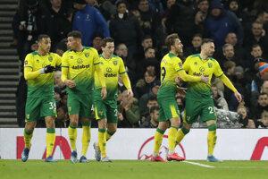 Futbalisti Norwichu City.
