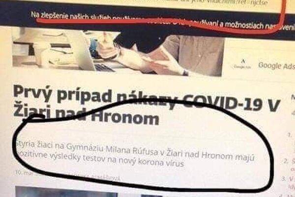 Táto fotografia je upravená a informácia je falošná.