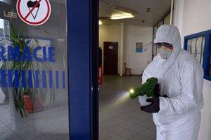 Aplikovaná bola polymérová dezinfekcia s dlhodobým účinkom.