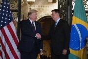 Trump s Bolsonarom na stretnutí pred pár dňami.