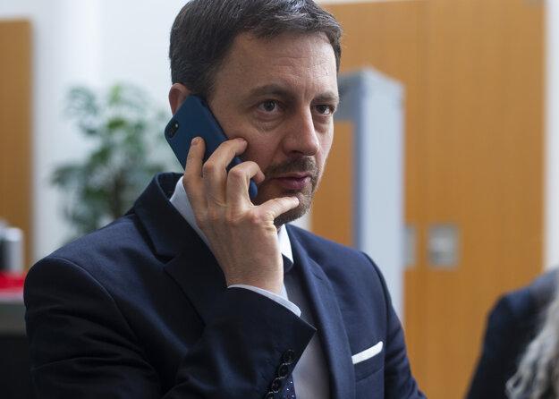 Minister financií: Eduard Heger, OľaNO