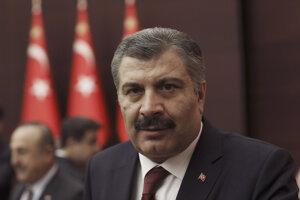 Turecký minister zdravotníctva Fahrettin Koca.