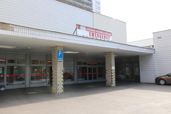 Urgentný príjem Univerzitnej nemocnice Bratislava – Nemocnice Ružinov počas mimoriadnej situácie v súvislosti s výskytom ochorenia COVID-19.