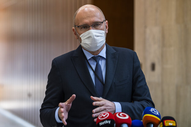 Minister hospodárstva a prvý podpredseda vlády pre ekonomiku Richard Sulík.