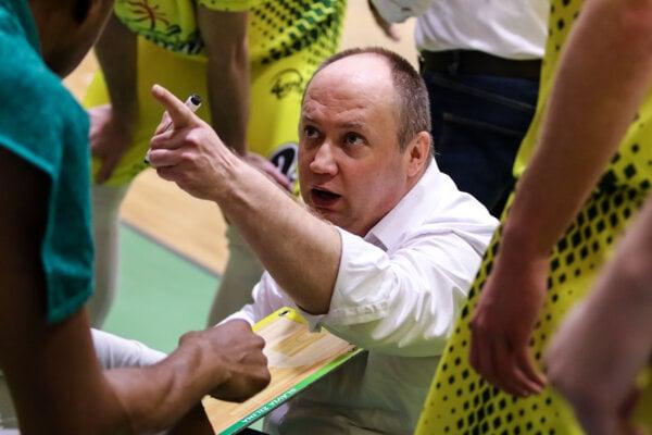 Ivan Kurilla, tréner BK Slávia Žilina.