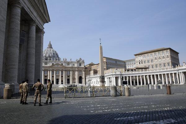 Námestie sv. Petra i Bazilika sv. Petra sú od 10. marca pre turistov uzatvorené.