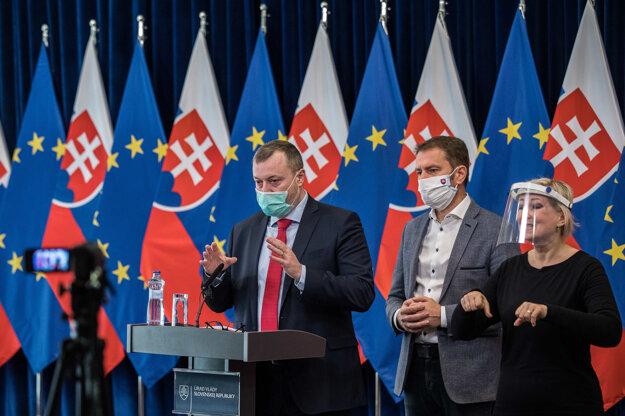 Milan Krajniak a Igor Matovič.
