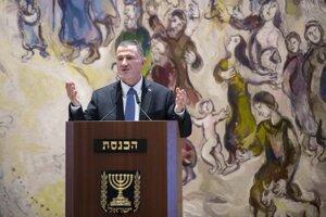 Predseda Knessetu štátu Izrael Juli-Joel Edelstein.