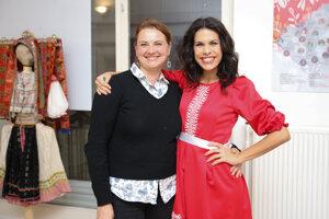 Andrea Šuleková a Veronika Strapková.