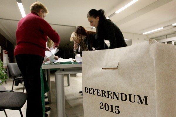 Referendum podľa očakávaní platné nebolo.