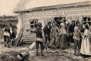 Cholera v Rusku.