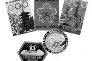 Propagačné predmety vydané k OH 1940 v Tokiu a ZOH 1940 v Sappore.