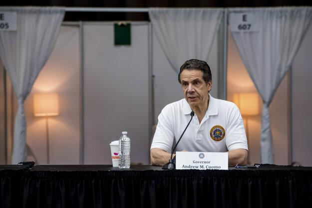 Guvernér štátu New York Andrew Cuomo.