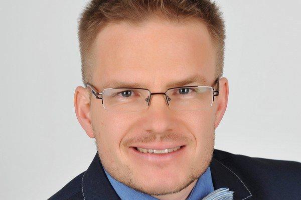 Prvý viceprimátor Trnavy Tibor Pekarčík.