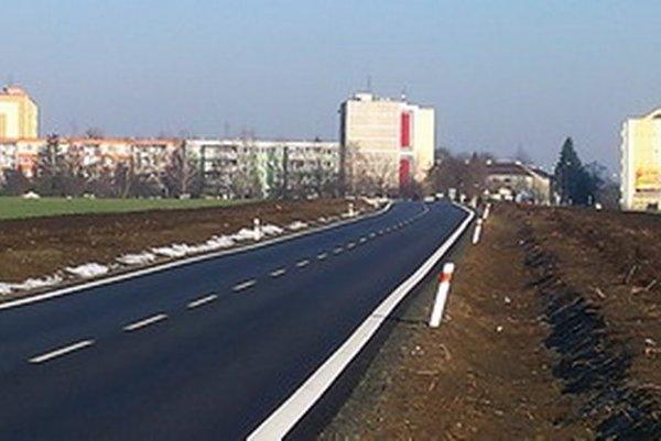 Cesta z Trnavy do Zelenča.