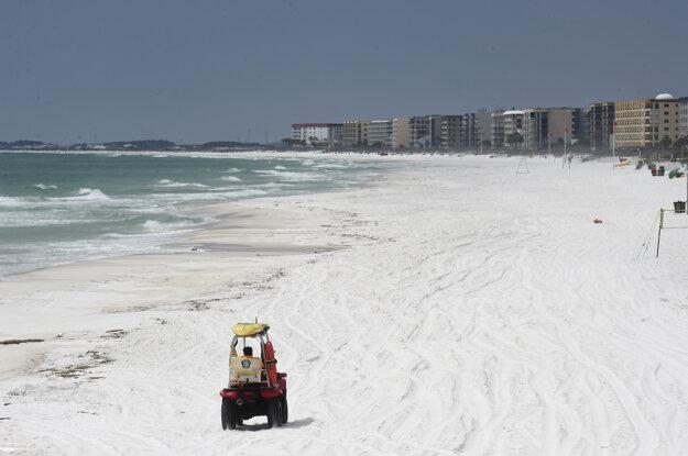 Pláže na Floride sú zavreté od 21. marca kvôli ochrane pred koronavírusom.