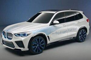 BMW X5 na vodíkový pohon