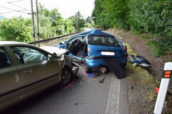 Pri nehode na ceste medzi Novou Baňou a Orovnicou zahynula v júni mladá vodička.