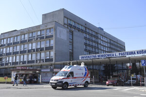 Košická nemocnica.