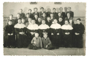 Tešitelia v levickom kláštore.