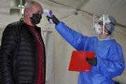 Meranie teploty vo filtračnom stane v ružomberskej nemocnici.