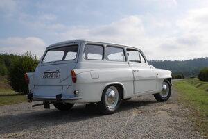 Škoda Octavia Combi z roku 1968.
