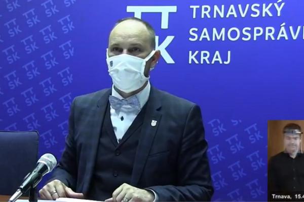 Župan Jozef Viskupič.