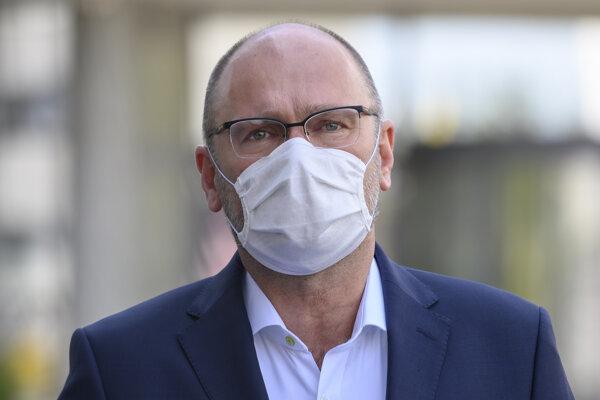 Koronavírus na Slovensku: Minister hospodárstva Richard Sulík (SaS).