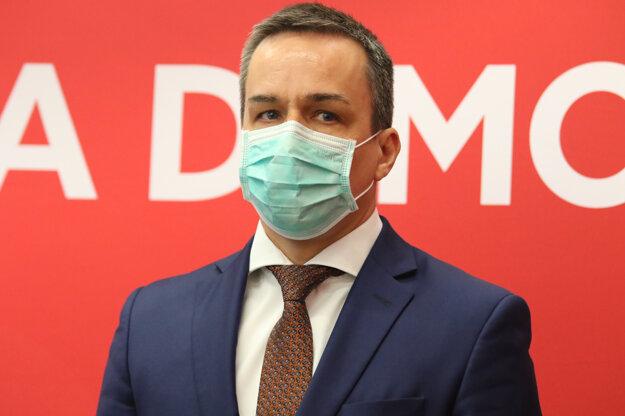Poslanec Smeru-SD Erik Tomáš.